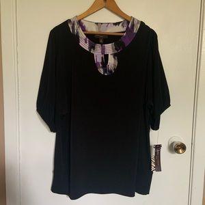Dana Buchman blouse size 1X